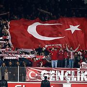 SB Elazigspor's Supporters fans during their Turkish Superleague soccer match SB Elazigspor between Besiktas at the Ataturk Stadium in Elazig Turkey on Saturday, 09 February 2013. Photo by Aykut AKICI/TURKPIX