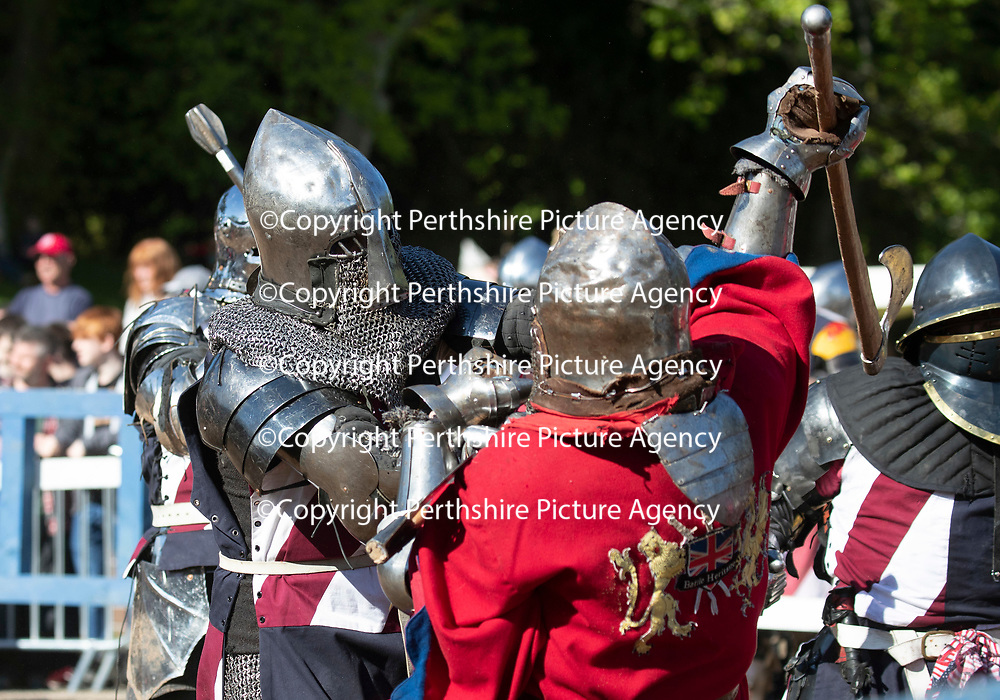 International Medieval Combat Federation World Championships at Scone Palace, Perth..13.05.18<br /> Picture by Graeme Hart.<br /> Copyright Perthshire Picture Agency<br /> Tel: 01738 623350  Mobile: 07990 594431