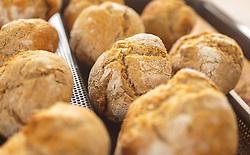 THEMENBILD - frisches Vollkorn-Gebäck auf einem Backblech, aufgenommen am 28. Jänner 2018, Kaprun, Österreich // fresh wholewheat pastry on a baking tray on 2018/01/28, Kaprun, Austria. EXPA Pictures © 2018, PhotoCredit: EXPA/ Stefanie Oberhauser