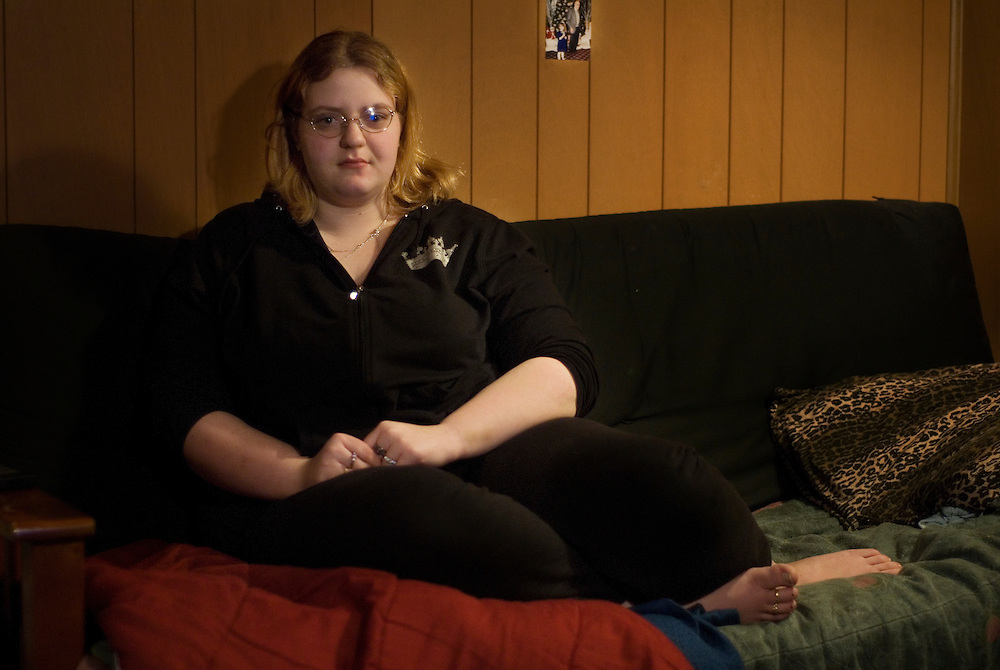Allison Harley, an 18 year old girl who lives in Lebanon, Pennsylvania,  has been cutting herself since she was seven years old. For Allison, cutting has been an escape for her.  An early abuse by her older brother, stress from school and having depression mixed with a bipolar disorder are just a few triggers in life that have lead her to do self injury. After discontinued high school at the age of 17, Harley moved to New York City in October of 2006. Hoping to find happiness with her boyfriend in the big city, Harley was instead greeted with abuse, pain and lonelyness. By December, Allison moved back to Pennsylvania where she lives now with father Tony Harley, her half sister Anne Martin and her nephew Colton MartinAllison Harley, an 18 year old girl who lives in Lebanon, Pennsylvania,  has been cutting herself since she was seven years old. For Allison, cutting has been an escape for her.  An early abuse by her older brother, stress from school and having depression mixed with a bipolar disorder are just a few triggers in life that have lead her to do self injury. After discontinued high school at the age of 17, Harley moved to New York City in October of 2006. Hoping to find happiness with her boyfriend in the big city, Harley was instead greeted with abuse, pain and lonelyness. By December, Allison moved back to Pennsylvania where she lives now with father Tony Harley, her half sister Anne Martin and her nephew Colton Martin..Photos by Tiffany L. Clark