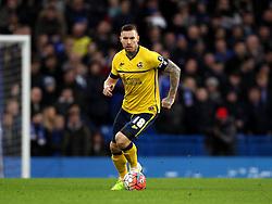 Jack King of Scunthorpe United - Mandatory byline: Robbie Stephenson/JMP - 10/01/2016 - FOOTBALL - Stamford Bridge - London, England - Chelsea v Scunthrope United - FA Cup Third Round