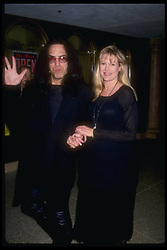 May 19, 1994;  Hollywood, CA, USA;  'KISS' guitarist PAUL STANLEY and girlfriend are shown here at the Russian Roulette Restaurant in Century City.  (Michelson - Karnbad/1994)  (Credit Image: © Michelson/ZUMAPRESS.com)