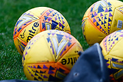 Ladbrokes SPFL Mitre Hi Vis ball ahead of the Ladbrokes Scottish Premiership match between St Mirren and Livingston at the Simple Digital Arena, Paisley, Scotland on 2nd March 2019.