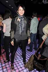 LISA MOORISH at the launch party of the Nokia 5800 phone held at PUNK 14 Soho Street, London W1 on 27th January 2009.