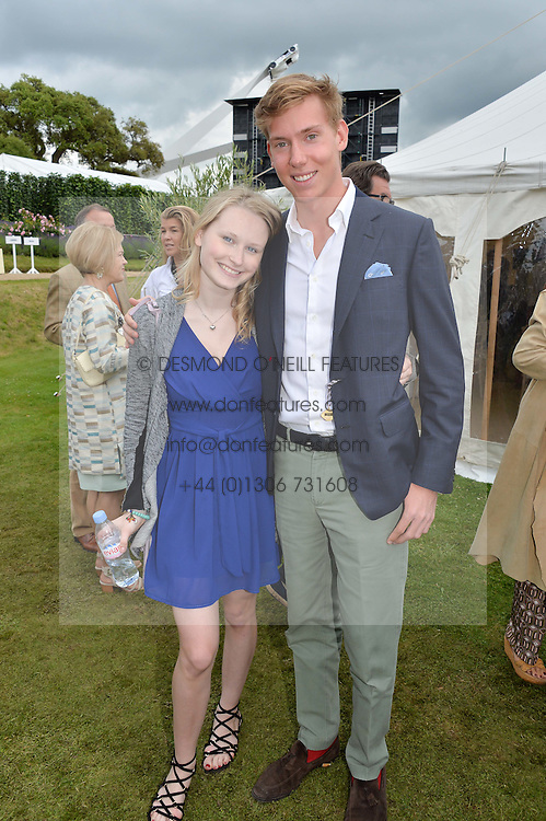 ISABELLE SMURFIT and ALBERTO CARELLO at the Cartier hosted Style et Lux at The Goodwood Festival of Speed at Goodwood House, West Sussex on 26th June 2016.