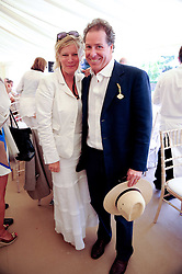 VISCOUNT LINLEY and the COUNTESS OF MARCHat a luncheon hosted by Cartier for their sponsorship of the Style et Luxe part of the Goodwood Festival of Speed at Goodwood House, West Sussex on 4th July 2010.