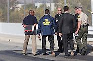 Shooting in San Bernardino.<br /> Law enforcement officials meet up at the command center near the Inland Regional Center.