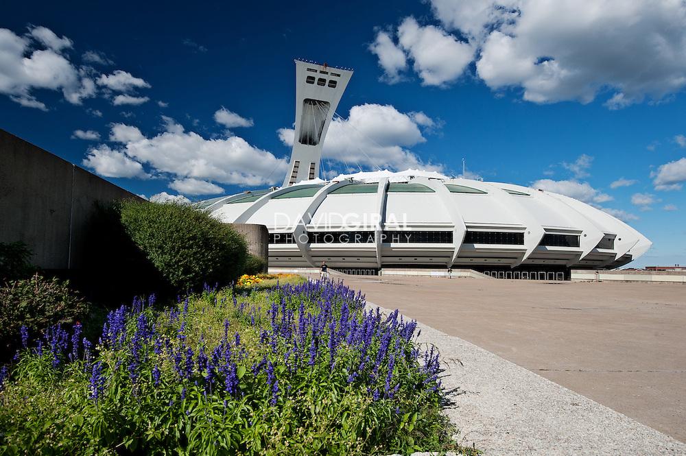 Olympic Stadium of Montreal, Stade olympique de montréal, Hochelaga-maisonneuve, Quebec, Canada