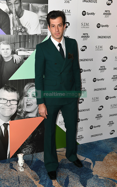 Mark Ronson arriving for the 26th Annual Music Industry Trusts Awards held at the Grosvenor House Hotel, London. Picture credit should read: Doug Peters/Empics Entertainment