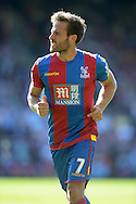Yohan Cabaye of Crystal Palace looking on. Barclays Premier league match, Crystal Palace v Aston Villa at Selhurst Park in London on Saturday 22nd August 2015.<br /> pic by John Patrick Fletcher, Andrew Orchard sports photography.