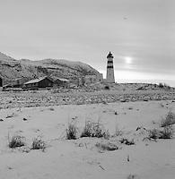 Vinterlandskap fra Alnes.
