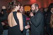 JASMINE GUINNESS; GAVIN TURK, Opening of Bailey's Stardust - Exhibition - National Portrait Gallery London. 3 February 2014