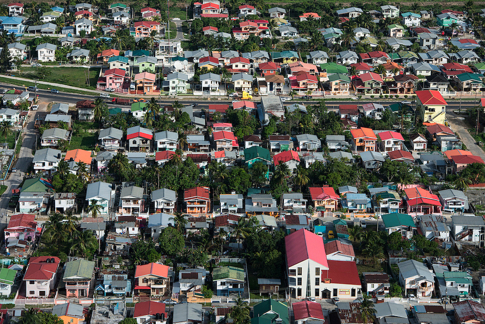 Houses<br /> Near Georgetown<br /> GUYANA<br /> South America