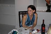 MARIA GRACHVOGEL, Maria Grachvogel dinner during London Fashion week. Shoreditch Beach Blanket Babylon. Bethnall Green Rd. London.  15 September 2008 *** Local Caption *** -DO NOT ARCHIVE-© Copyright Photograph by Dafydd Jones. 248 Clapham Rd. London SW9 0PZ. Tel 0207 820 0771. www.dafjones.com.