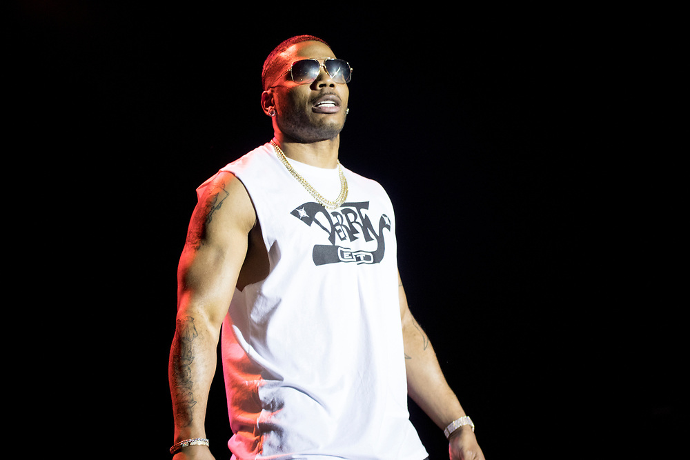 Nelly performs at Summerfest in Milwaukee, WI on June 28, 2018.