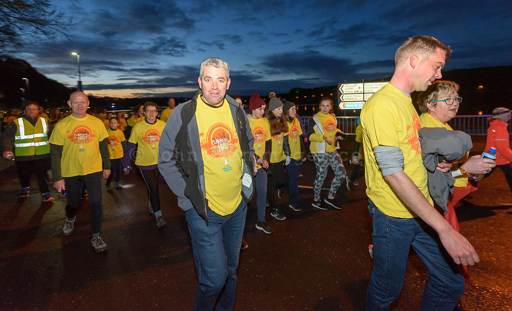 REPRO FREE<br /> Senator Tim Lombard walking on the route of the inaugural Kinsale Darkness into Light walk in aid of Pieta House and organised by Kinsale Youth Support Services (KYSS).<br /> Picture. John Allen
