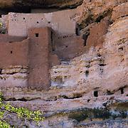 Montezuma Castle National Monument in Arizona. .