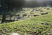 Joodse begraafplaats uit de 17de eeuw in Den Haag ligt in de Archipelbuurt, aan de Scheveningseweg schuin tegenover het Vredespaleis. Jewish graveyard from the 17th century in The Hague, Netherlands near the Peace Palace at the Scheveningsweg.