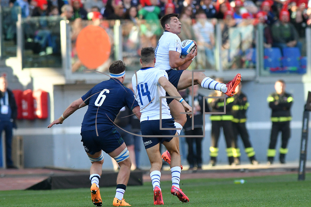 Roma 22/02/2020 Stadio Olimpico<br /> Guinness 6 nations 2020 : Italia vs Scozia<br /> Tommaso Allan
