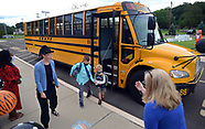 First Day of School With Masks Required at Tinicum Elementary