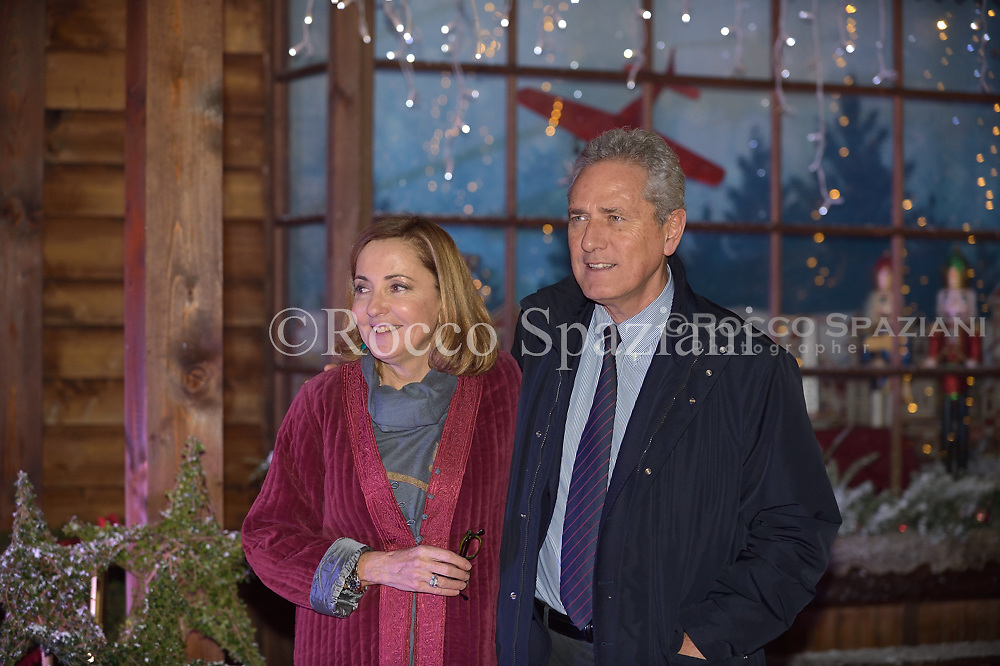 Barbara Palombelli, Francesco Rutelli Super Vacanze di Natale premiere, Red carpet, Rome, Italy - 12 Dec 2017