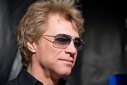 Jon Bon Jovi of Bon Jovi attends a photocall, before playing live on stage, at Estadio Vicente Calderon on June 27, 2013 in Madrid, Spain. Photo by : Oscar Gonzalez / i-Images<br /> SPAIN OUT