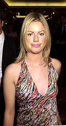 MISS CAROLINE STANBURY, a close friend of HRH The Duke of York, at a party in London on 19th october 2000.OIA 9
