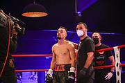Boxen: Universum Boxpromotion, Fightnight, Hamburg, 24.04.2021<br /> Malik Aksakal (GER) - Pierre Woloszynski (GER)<br /> © Torsten Helmke