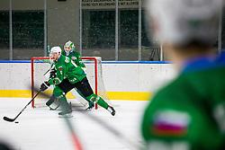 6# Stebih Miha of HK SZ Olimpija during the match of Alps Hockey League 2020/21 between HK SZ Olimpija Ljubljana vs. EC Bregenzerwald, on 09.01.2021 in Hala Tivoli in Ljubljana, Slovenia. Photo by Urban Meglič / Sportida