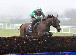 Jockey Donagh Meyler on board Paper Lantern, winning the Fred Kenny Handicap Steeplechase, during BoyleSports Irish Grand National Day of the 2018 Easter Festival at Fairyhouse Racecourse, Ratoath, Co. Meath