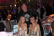 JULIA GONCARUK; ALISA ROEVEN; ROBERT TCHENGUIZ, Grey Goose Winter Ball to benefit the Elton John Aids Foundation. Battersea Power Station. London. 10 November 2012.