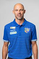 Download von www.picturedesk.com am 16.08.2019 (13:54). <br /> ST. POELTEN, AUSTRIA - JULY 9: Head coach Alexander Schmidt of St.Poelten during the Team photo shooting - SKN St.Poelten at NV Arena on July 9, 2019 in St. Poelten, Austria.190709_SEPA_01_065 - 20190709_PD15507