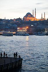 THEMENBILD - Süleymaniye- Moschee. Istanbul, früher Konstantinopel, ist die größte Stadt der Türkei. Sie liegt am Bosporus und liegt am Schnittpunkt von Asien und Europa. Aufgenommen am 06.03.2016 in Istanbul, Türkei // Süleymaniye Camii. Istanbul, former Constantinople, is the biggest City of Turkey. Turkey on 2016/03/06. EXPA Pictures © 2016, PhotoCredit: EXPA/ Michael Gruber