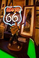 Route 66, Hackberry General Store, Elvis Presley, neon sign, vintage gas station