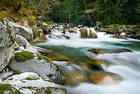 Newhalem Creek North Cascades Washington USA
