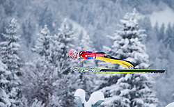31.12.2014, Olympiaschanze, Garmisch Partenkirchen, GER, FIS Ski Sprung Weltcup, 63. Vierschanzentournee, Training, im Bild Severin Freund (GER) // during Trial Jump of 63rd Four Hills <br /> Tournament of FIS Ski Jumping World Cup at the Olympiaschanze, Garmisch Partenkirchen, Germany on 2014/12/31. EXPA Pictures © 2014, PhotoCredit: EXPA/ JFK