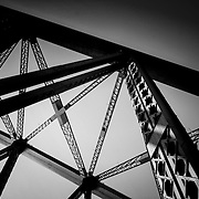 Bridge trusses, Sydney, Australia (January 2006)