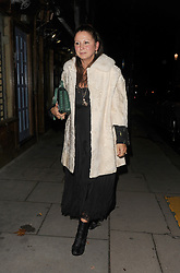 Kate Moss leaves a private party with Dave Gardner, Liv Tyler and Fran Cutler. The group partied until 8am!<br />