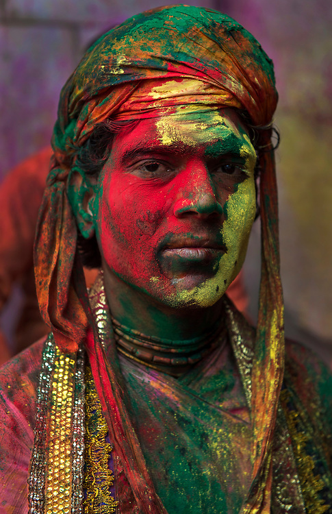 The vibrant culture of Rajasthan expressed through the colours of its people, their culture, and environment