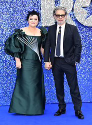 Dalia Ibelhauptaite and Dexter Fletcher (right) attending the Rocketman UK Premiere, at the Odeon Luxe, Leicester Square, London.