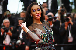 Winnie Harlow attends the screening of Oh Mercy! (Roubaix, une Lumiere) during the 72nd annual Cannes Film Festival on May 22, 2019 in Cannes, France. Photo by Shootpix/ABACAPRESS.COM