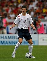 Photo: Glyn Thomas.<br />England v Ecuador. 2nd Round, FIFA World Cup 2006. 25/06/2006.<br /> England's Michael Carrick.