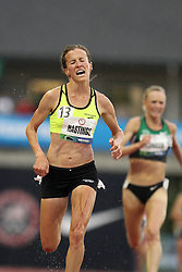 Olympic Trials Eugene 2012: women's 10,000 meter final, Amy Hasting stretch run for win, makes Olympic team