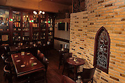 Interior of an Irish style pub