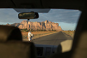 Driving along road to Hawzen, Gheralta area, Tigray, Ethiopia, Horn of Africa