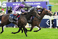 Flat Horse Racing - 2019 Investec Derby Festival - Friday, Day One (Ladies Day)<br /> <br /> Frankie Dettori on Anapurna, in the 16.30 investec Oaks (Group 1), at Epsom Racecourse.<br /> <br /> COLORSPORT/ANDREW COWIE