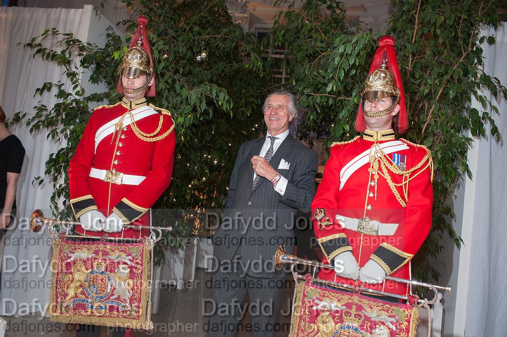 ARNAUD BAMBERGER, Cartier Tank Anglaise launch. Kensington Palace Orangery, London.  19 April 2012.