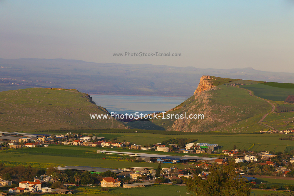 The Horns of Hattin is an extinct volcano with twin peaks overlooking the plains of Hattin in the Lower Galilee, Israel, and is believed to be the site of the Battle of Hattin, Saladin's victory over the Crusaders in 1187.