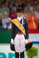 Cornelissen Adelinde (NED) <br /> Gold Medal Kür to Music<br /> European Championships Dressage - Rotterdam 2011<br /> © Dirk Caremans