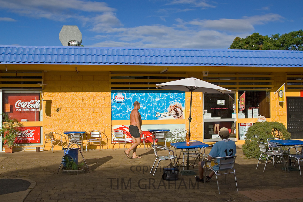 General store and cafe near Cairns, North Queensland, Australia